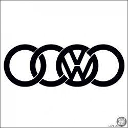 AUDI matrica VW jel