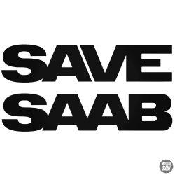SAVE SAAB matrica