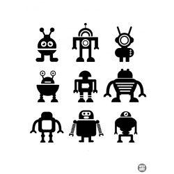 ROBOT szett matrica