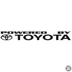 Powered by Toyota matrica