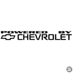 Powered by Chevrolet matrica 1