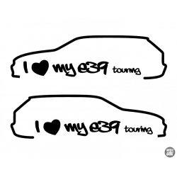 I Love My BMW E39 Touring 2x