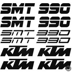 KTM 990 SMT szett matrica