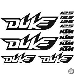 KTM 125 Duke szett matrica