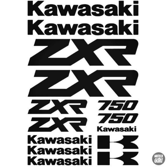 Kawasaki ZXR 750 szett matrica