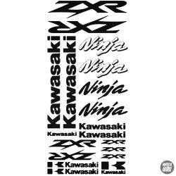 Kawasaki ZXR Ninja szett matrica