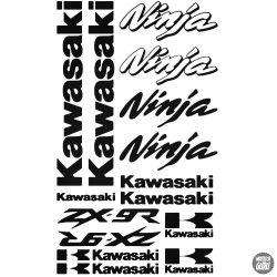 Kawasaki ZX9R Ninja szett matrica
