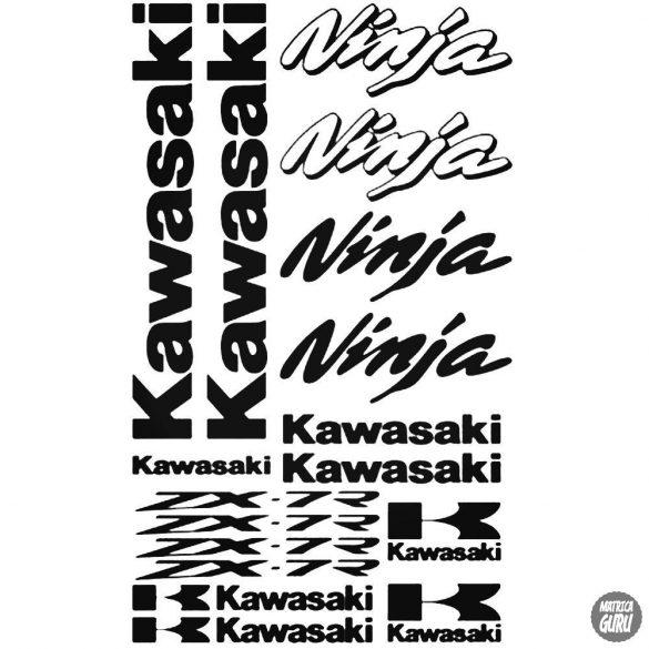 Kawasaki ZX7R szett matrica
