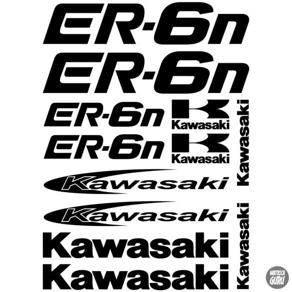 Kawasaki ER-6N szett matrica