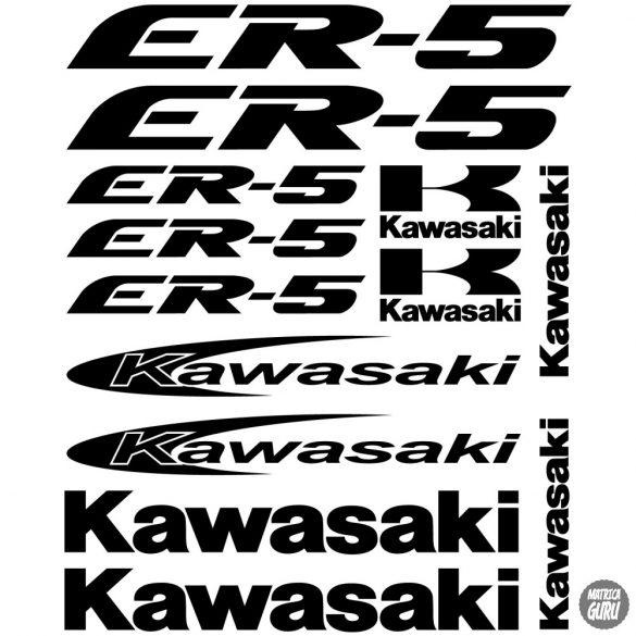Kawasaki ER-5 szett matrica