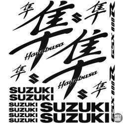 Suzuki Hayabusa GSX 600R szett 2 matrica