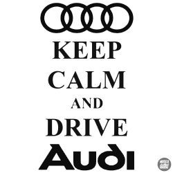 AUDI matrica Keep Calm
