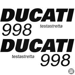 DUCATI 998 szett matrica