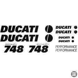 DUCATI 748 szett matrica