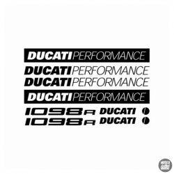DUCATI 1098R szett matrica