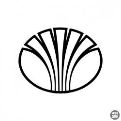 Daewoo embléma matrica 1