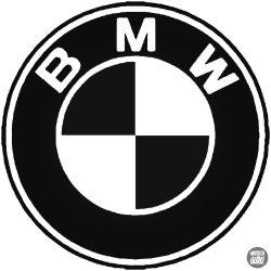 BMW logó matrica 10