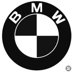 BMW embléma matrica 12
