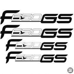 BMW F650 GS szett matrica