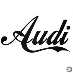 Audi matrica Cola felirat