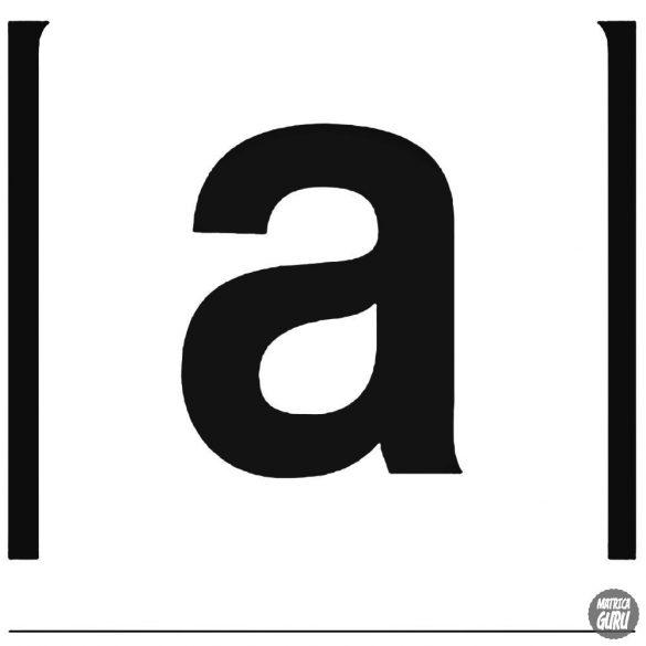 "Aprilia ""a"" betű matrica"
