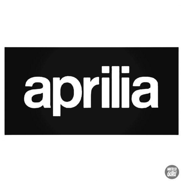 "Aprilia Logó ""11"" matrica"