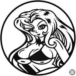 Anime Hot Girl Autómatrica