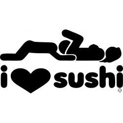 BMW matrica I Love Sushi 1