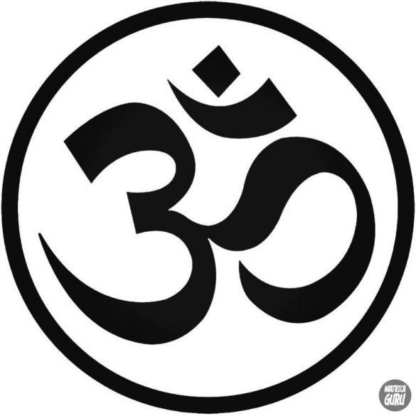 Yoga szimbólum matrica