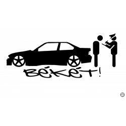 BMW matrica BÉKÉT