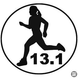 13.1 Női félmaraton matrica