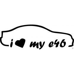 BMW matrica i Love My E46