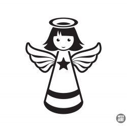 Kicsi csillagos angyalka Matrica