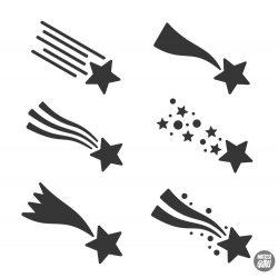 """Csillag szett """"4"""" Matrica (30 cm)"""