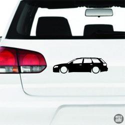 Audi matrica A4 RS4