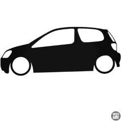 Toyota autó matrica