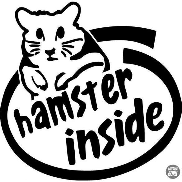 Hamster Inside matrica