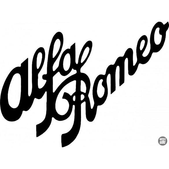 Alfa Romeo matrica szöveg