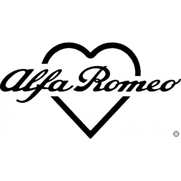 Alfa Romeo matrica szív