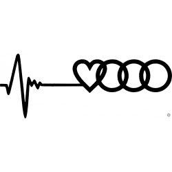 Audi matrica Szívvonal