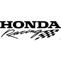 Honda Racing zászlóval matrica