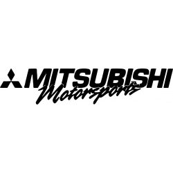 Mitsubishi motorsport matrica