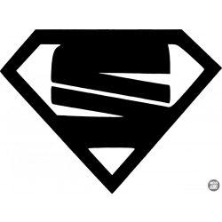 Seat Superman matrica