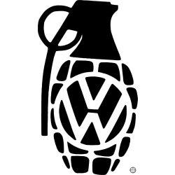 Volkswagen matrica gránát