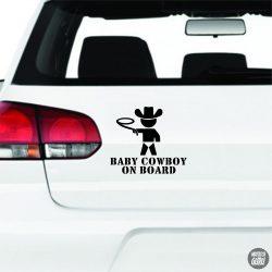 Baby Cowboy on Board autómatrica