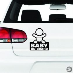 NewBorn Baby on Board autómatrica