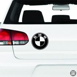 BMW logó matrica