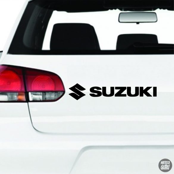Suzuki matrica logó és felirat