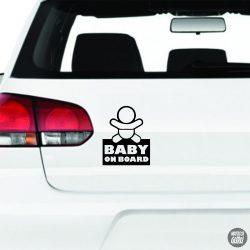 "Baby on Board ""2"" autómatrica"