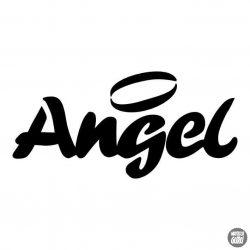 Angel felirat matrica